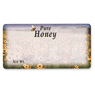 Mann Lake 250 Count Field of Flowers Label, 2 by 4-Inch 13