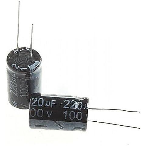 ZQQ condensatore elettrolitico 220uF 100V (10pcs)
