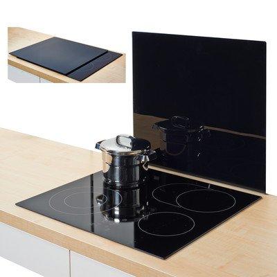 zeller-26284-herdblende-abdeckplatte-glas-schwarz