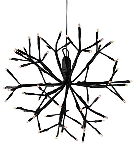 Hängedeko Fenster Weihnachten LED Stern außen und Innen Weihnachtsstern 3d Beleuchtet Strom Leuchtstern Weihnachtsdeko (KW1)