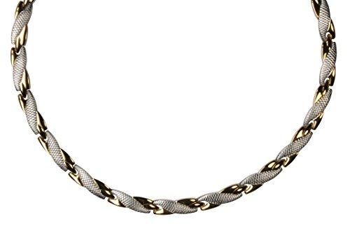 "Yinga-Vital Bestseller! Halskette in\""Schlangenoptik\"" Länge: 49.4 cm"