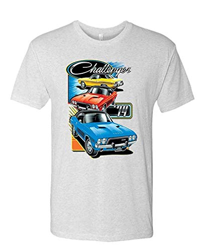 Challenger Trio - Officially Licensed Dodge - Mens Cotton T-Shirt XL -