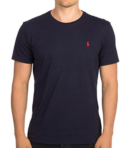 Polo Ralph Lauren Herren T-Shirt mit Rundhalsausschnitt (XX-Large, Navy) thumbnail