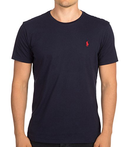 RALPH LAUREN T-Shirt HERREN TEE SHIRT CLASSIC FIT RLNM1000 m dunkelblau
