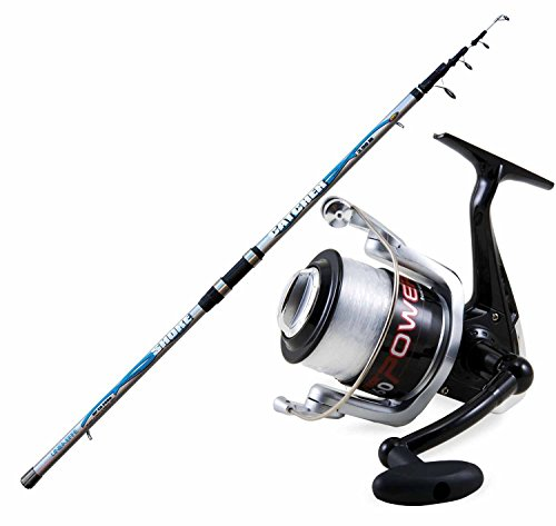 Kit canne surfcasting Catcher 390 Moulinet 6000 fil