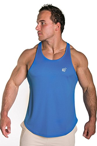 Jed-North-Mens-DRI-FIT-Microfiber-Bodybuilding-Stringer-Tank-Top-Weight-training-Y-Back-Racerback