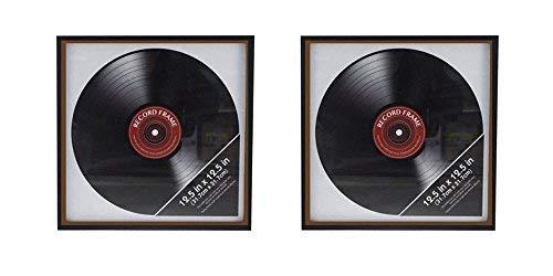 Ardisle, 2 cornici retro in vinile, LP album, cover, da appendere al muro, 30,5cm, custodia