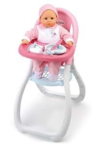 Smoby 24019 accessoire pour poup e baby nurse for Chaise haute smoby 3 en 1