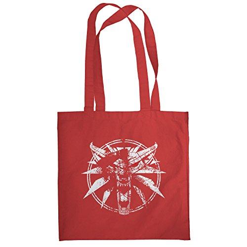 TEXLAB - Hexer Logo - Stoffbeutel, (Kostüm Witcher Geralt)
