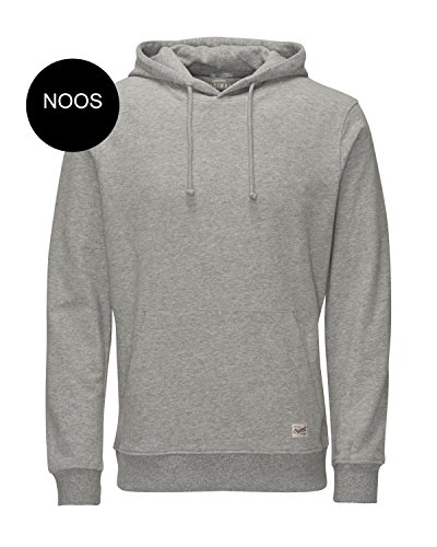 Jack & Jones Jorwind Hood Noos, Sweat-Shirt àCapuche Homme Gris