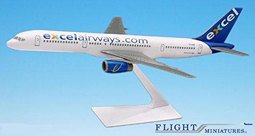excel-airways-boeing-757-200-airplane-miniature-model-plastic-snap-fit-1200-part-abo-75720h-057