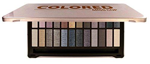 Miss Cop Palette de Maquillage Coloré