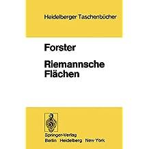 Riemannsche Flächen (Heidelberger Taschenbücher)