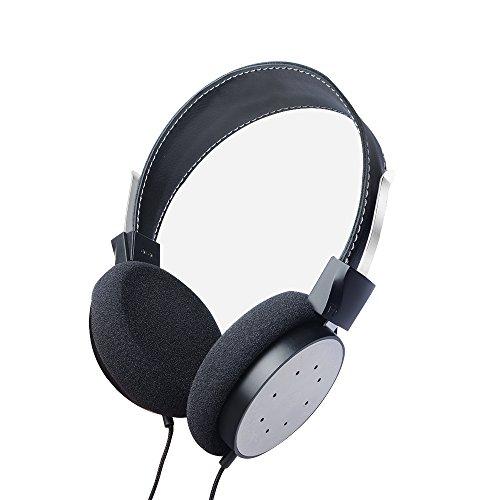 OKCSC portátil plegable On-Ear auriculares auriculares auriculares de aislamiento de ruido auriculares con cable desmontable para Apple Iphone 7, Android Smart Phone/Tablet/portátil