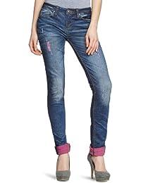 One Green Elephant Damen Jeans HO3132/104 Skinny / Slim Fit (Röhre) Normaler Bund