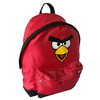 Angry Birds – Mochila Grande, Color Rojo