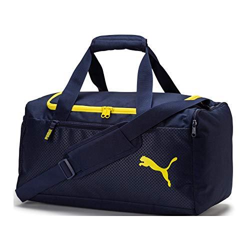 wholesale dealer 06308 8cd07 Puma Fundamentals Sports Bag M Bolsa Deporte, Unisex Adulto, Peacoat, OSFA