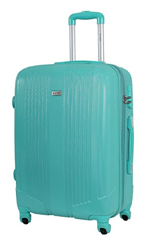 Valise taille moyenne 65cm - Trolley ALISTAIR Airo - ABS ultra Léger - 4 roues (Green)