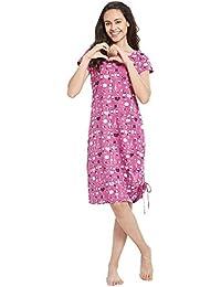 Mystere Paris Stitch Print Sleep Tee Sleepwear Nightwear Womens Ledies Pink  Sleep tee C324D d7da476b0