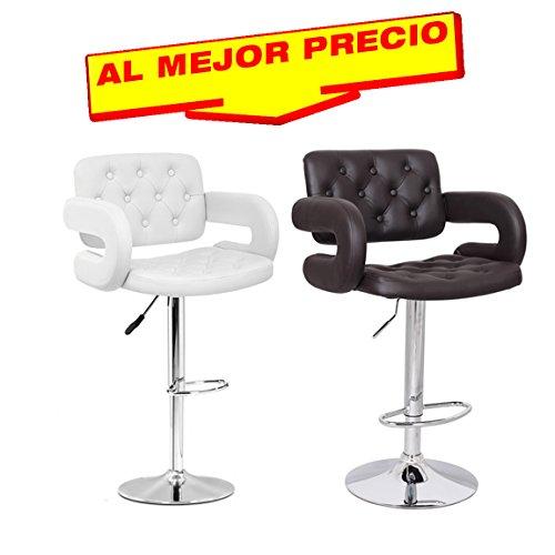 TABURETE DE DISEÑO MODELO BOULEVARD, ACABADO MODERNO COLECCIÓN TAPIZADO BASE CROMADO PARA HOGAR Y OFICINA -EDICIÓN LIMITADA-DISPONIBLE EN DIFERENTES COLORES - OFERTAS TABURETES -¡AL MEJOR PRECIO!