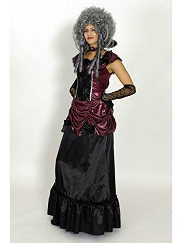 Vampir Halloween Kostüm Lady (Damen Kostüm Vampir Lady Vampirin Hexe Gothic Halloween)