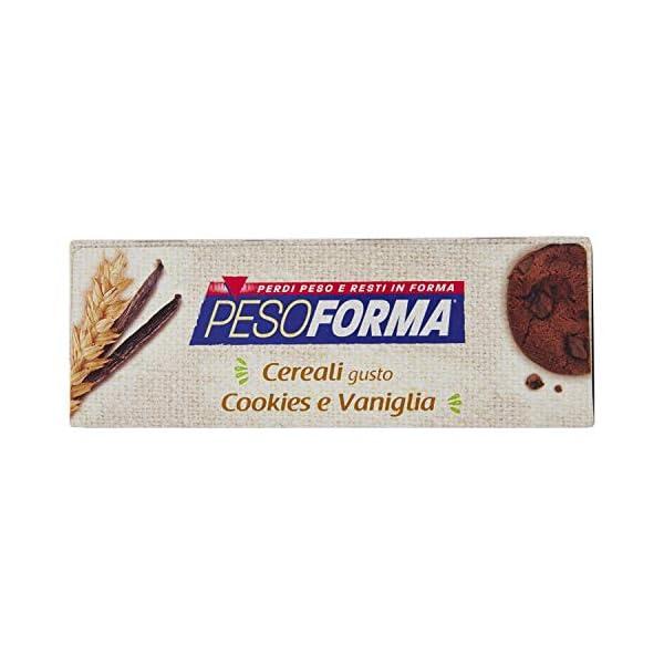 Pesoforma Barrette Cereali Croccanti, Cookies e Vaniglia - Pasti sostitutivi dimagranti SOLO 233 Kcal- Ricco in proteine… 5 spesavip