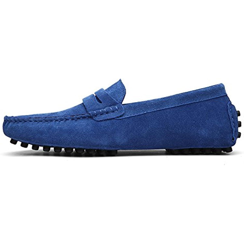 Apragaz Mocassins Penny Penny Penny en Cuir Véritable Mocassins Décontractés Slip-on Chaussures en Cuir pour Homme - B07GJQBDNQ - 702e84
