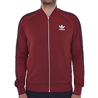 adidas Originals Track Jacket Mens SST Superstar Retro Tracksuit Top Trefoil New BQ7762 (Medium)