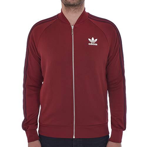 e7c6c43b19738 adidas Originals Track Jacket Mens SST Superstar Retro Tracksuit Top  Trefoil New BQ7762 (Medium)