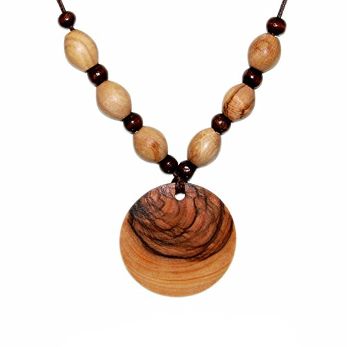 handmade-olive-wood-medallion-necklace-with-olive-wood-beads-and-brown-wooden-beads-fair-trade