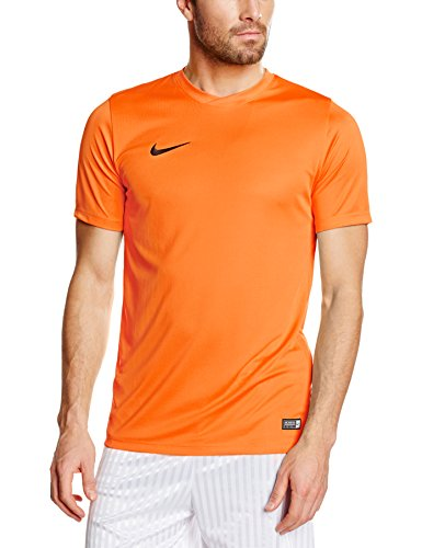 NIKE Herren Kurzarm T-Shirt Trikot Park VI, Orange (Safety Orange/Black/815), Gr. L -