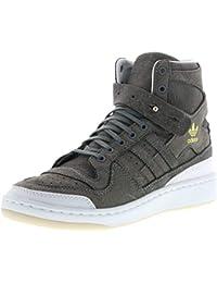 best sneakers 7f10d 8a14b adidas Forum HI Crafted BW1253 Herren Sneaker grauweiß