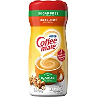 Coffee-mate Hazelnut, Sugar-Free Powdered Coffee Creamer, 10.2-Ounce Packages (Pack of 6)