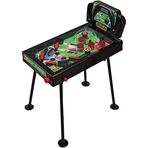 Globo Toys Globo-3741070cm Familie Spiele Flipper mit Bein Lichter und Sound