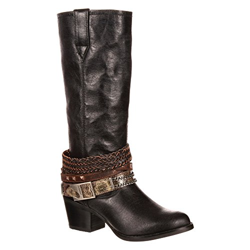 Durango Boots Stiefel DRD0072 ACCESSORIZE Damen Fashion Stiefel Black