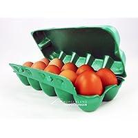 50 Stabile Eierschachteln aus Styropor für 10 Hühnereier • hygienische Eierpappen • Eierkartons • Eierbox • Eierverpackung • sicherer Transport für Rohe Eier • Ei • Einweg • Mehrweg