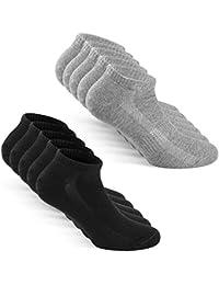 TUUHAW Sneaker Socken Herren Damen Sportsocken 10Paar Halbsocken Kurze Atmungsaktive Baumwolle