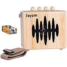 Rayzm Amplificador Combo para Guitarra Eléctrica, Mini Amp Portátil con Baterías de 5 Watt Con