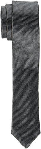 Seidensticker Herren Krawatte Schmal, Grau (Grau 36), 5