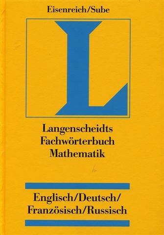 Download Langenscheidt Fachwörterbuch Mathematik, Deutsch-Englisch ...