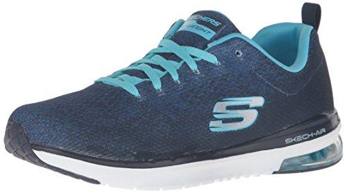 Skechers (SKEES) Skech-flex- Tropical Vibes, baskets sportives femme noir (BKMT)