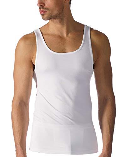 Mey Herren Herren Pyjama kurz 42600, Weiss, 6