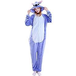Everglamour Maillot de bain 1 pièce combinaison bleue