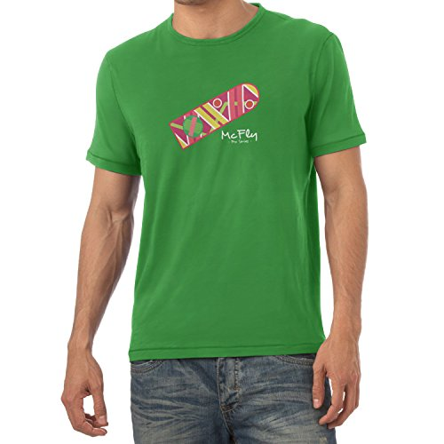 Texlab Herren McFly Pro Series Hoverboard T-Shirt, Grün, XL