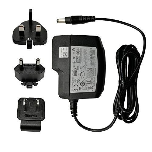 Universal AC Netzteil 5V 3A 15W 100–240V 1.5M 2.5mm, mit Multi Stecker für USA, UK, EU, unterstützt Android Box MINIX NEO U1, NEO U9-H