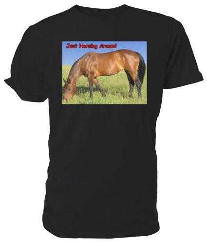Bay cavallo Horsing a T Nero (nero)
