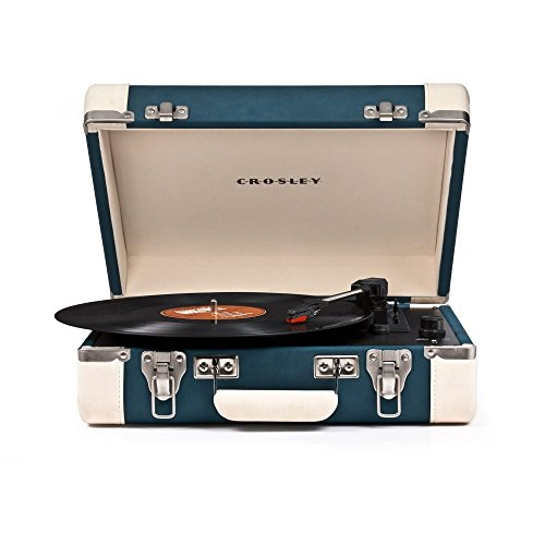 CROSLEY cr6019 a-TL Direct Drive Audio Turntable Blue Audio Turntable – Plattenspieler (Blue) Crosley Elektronik