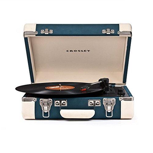 CROSLEY cr6019a-TL Direct Drive Audio Turntable Blue Audio Turntable–Plattenspieler (Blue) Crosley Elektronik