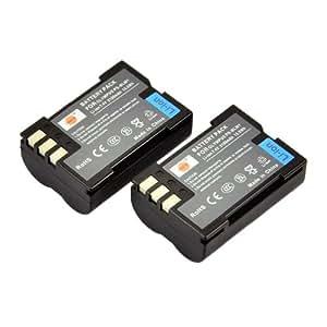 DSTE® 2x BLM-1 de remplacement Li-ion Batterie pour Olympus BLM-01, PS-BLM1 and Olympus EVOLT E-300, E-330, E-500, E-510, C-5060, C-7070, C-8080, E-1, E-3, E-30, E-520