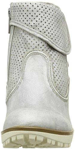 Mustang 1214503, Bottes Classiques femme Blanc Cassé (203 Ice)